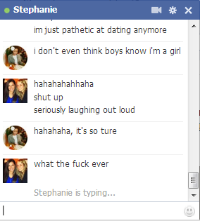 Stephanie and I discuss just how unbearably and expectedly single I always am.