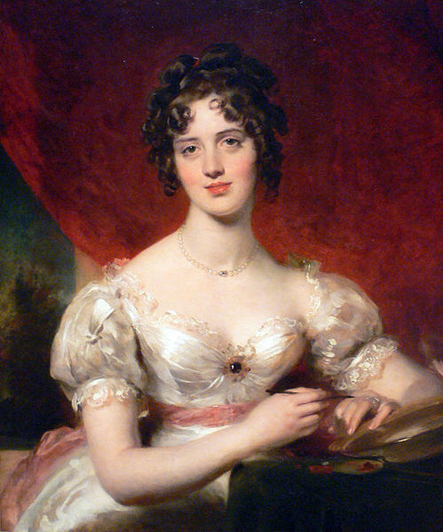 masterpiecedaily:  Thomas Lawrence Portrait of Mary Anne Bloxam 1824-25