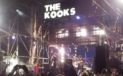 The Kooks was amazing. Awesome night in Johannesburg