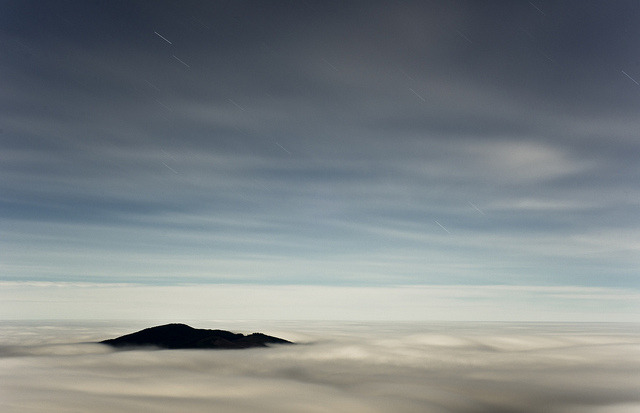 Island in the Clouds by benalesh1985 on Flickr.
