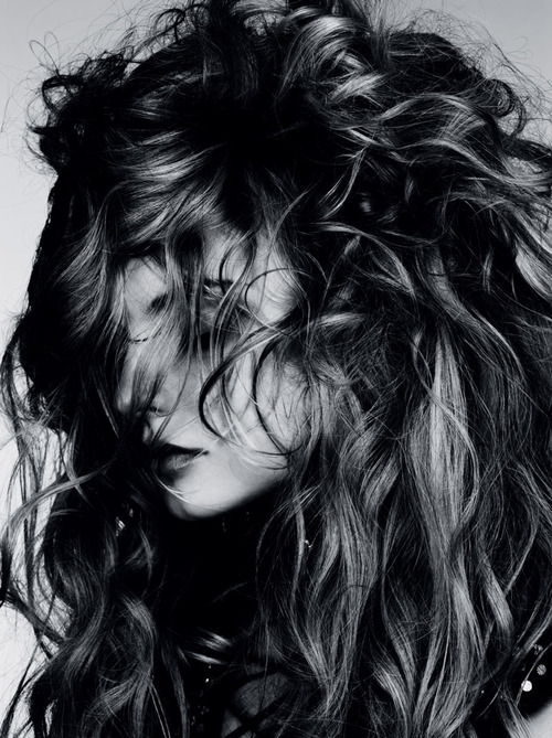 "eringaddnas:  ""Wild Waves"" with Magdalena Frackowiak by Ben Hassett for Vogue Germany"