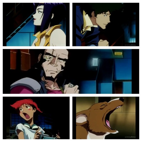 sepiida:  The essence of cowboy bebop