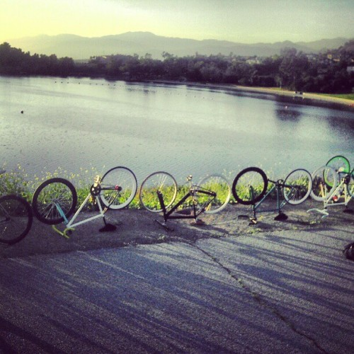You know just rideing to @bonely .. Best ride ever so far x) #fixie #nature