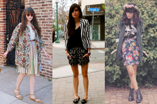 Still not sure how to mix prints? Get inspiration and see how some of our favorite readers style the on-trend look »