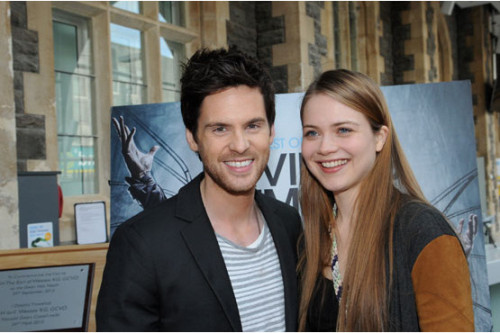tomriley:  Lovely photos from the Da Vinci's Demons premiere in Neath. UK TV premiere on FOX 10pm tomorrow! (via Da Vinci's Demons: Neath premiere photos and BBC News interview)