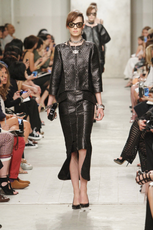 yourmothershouldknow:  Chanel Resort 2014