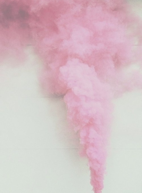 vickylovee12:  pink smoke | Pale and Pastel on @weheartit.com - http://whrt.it/166ypSO