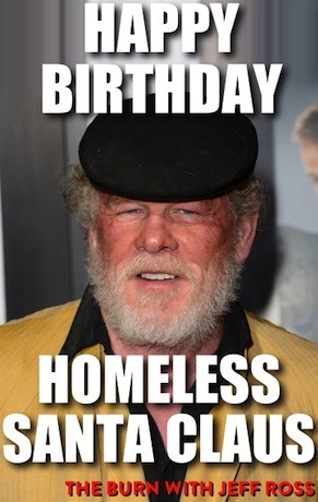 theburntv:  HAPPY BURN-DAY NICK NOLTE! He made a wish… and blew a .19. Nick turns 72 today.