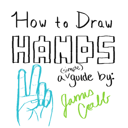 headbeforetoes:  How to draw hands..  Oh the pain of drawing hands… Even Satan can't help at times! :D