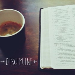 "spiritualinspiration:  Discipline Is Not a Dirty Word by Joyce Meyer  First and foremost, living a disciplined life and establishing new habits requires a lot more than just will power.  I'll never forget the time years ago when I heard a teaching about the power of words. That day, I left church and said, ""That's it! I'm going to shut my mouth and not say one bad thing. I'm going to discipline myself!""  You can probably guess how that turned out. Actually, I did manage to keep quiet, but then I realized I was depressed. The Lord spoke to my heart and said, ""You shut your mouth, but nothing on the inside has changed.""  Here's the lesson: Even when God asks us to do something, we still cannot do it successfully unless we lean on Him. John 15:5 has changed my life. It says, …Apart from Me you can do nothing (NAS).  Take a little time each day to read God's Word and talk to Him in prayer. Some of my greatest breakthroughs have been the result of simply sitting quietly in His presence, letting Him know that I can't do anything if He doesn't make it happen."