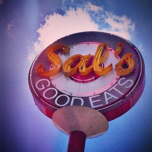Today's lunch break. #sals #goodeats #nj #mmm #lunch #fatsofriday (at Sal's Good Eats)