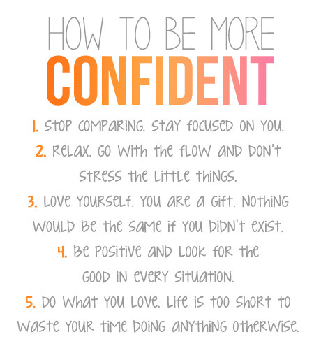pixelmusings:  Confidence | via Tumblr on We Heart It - http://weheartit.com/entry/60737211/via/pixelmusings Hearted from: http://livesexuallyhealthy.tumblr.com/post/49835464790