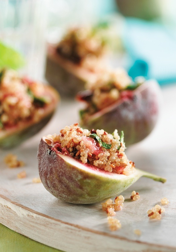 Gluten Free (via Ingredients, Inc.Figs Stuffed with Sesame, Mint and Quinoa: Cookbook Giveaway)