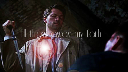 whaaaatadork:  I have a headcanon that Cas gave up his grace to break the bond with Naomi, save Dean, and keep the tablet safe. (That's why he was on the bus.) I mean, he became human in the 2014 zombie future, so why not?  Also, it would make Destiel easier to be canon.