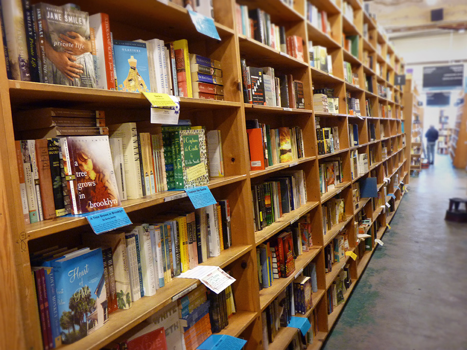 powells:  Lose yourself in a good book: http://powells.us/12e5y9k  I want to go to there.