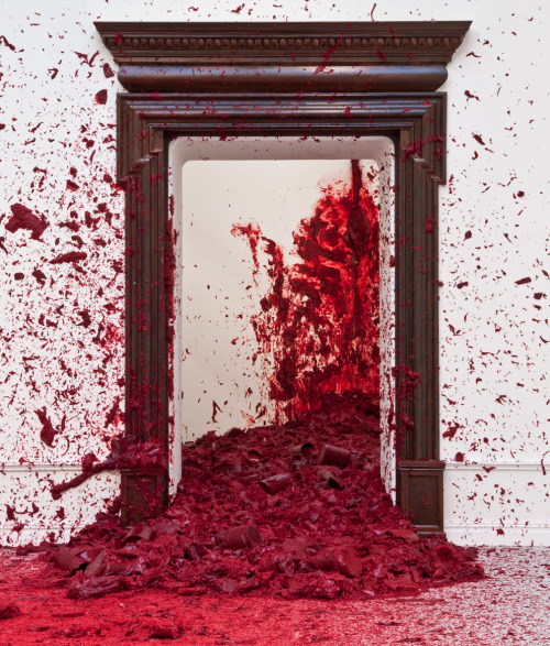 Shooting Into The Corners. 2009. Anish Kapoor.
