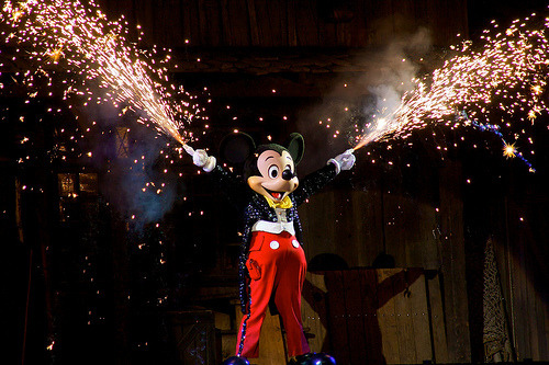 There is no part of Fantasmic! that is not awesome.