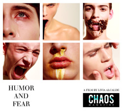 Humor and Fear, the latest fashion film from CHAOS Magazine. Can you handle the humor and fear? Find out by clicking the image.   Watch the video: http://www.youtube.com/chaosmagazine