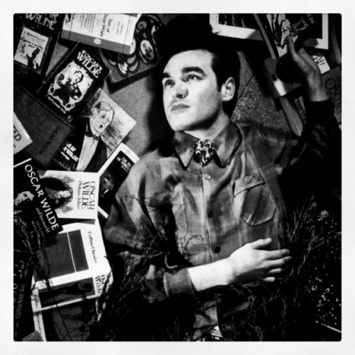onregelmatig:  (un)Happy 54 birthday to this guy #morrissey