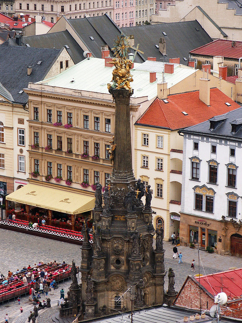 ysvoice:  | ♕ |  Holy Trinity Colum at Olomouc Square  | by © Pedro NC