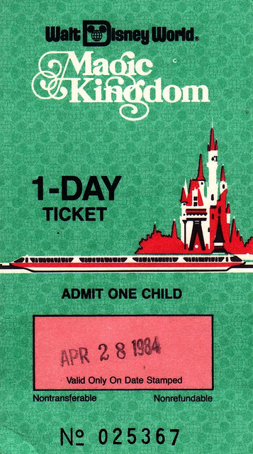 Comp 1 Day Child Ticket 1984 by UFG8R on Flickr.