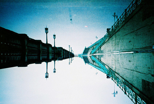 flooded promenade by lomokev on Flickr.