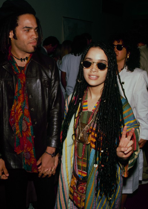 Coworker: Lisa Bonet is my spirit animal.