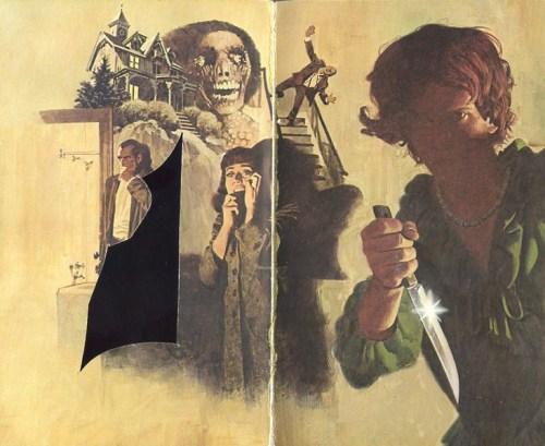 (via Too Much Horror Fiction: Psycho by Robert Bloch: Warner Books 1982 edition)