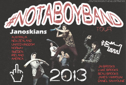 janoskianspoll:  woahjaidon:   Janoskians announce International tour 2013 - ebm  Wtf this is perfect wow  omg this is awesome!