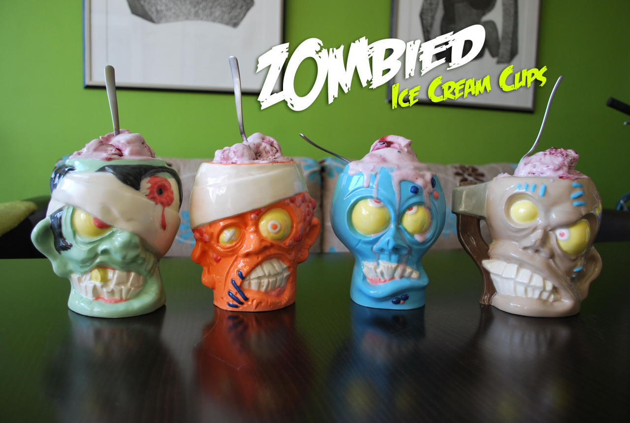 Cool Kickstarter project about Zombie Head Beer Mugs and Ice Cream Cups http://www.kickstarter.com/projects/64881415/zombie-head-ice-cream-cups-and-beer-mugs  Go and back this project !
