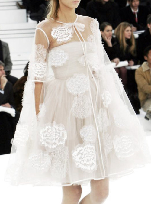 notordinaryfashion:  lavandula:  chanel haute couture spring/summer 2006  Love