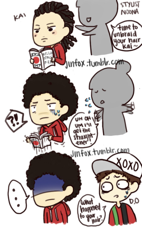 jinfox:  AFRO KAI   Do not edit or repost