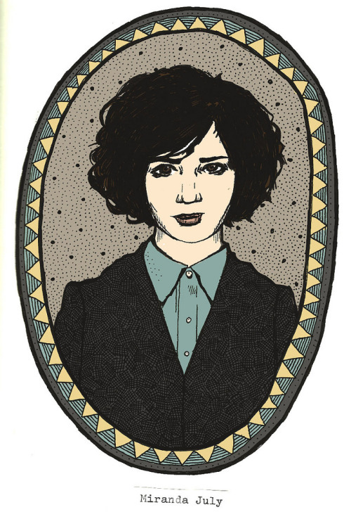 Miranda July (by jesscat illustration)