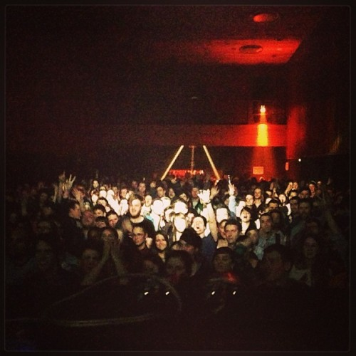 Bruxelles on a Sunday night.. Thank you! (at VK Concerts)