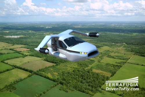 laughingsquid:  Terrafugia Unveils Futuristic TF-X Flying Car Concept  Sweet!