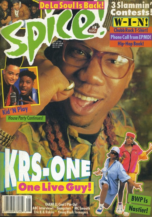 westcoastchris:  Krs-One, Spice, August 1990