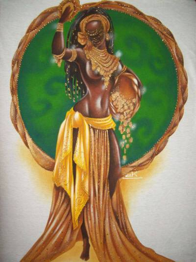 The Dance of Oshun Her dance is the most sensual