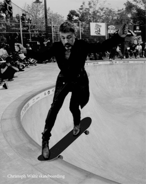 Christoph Waltz shredding
