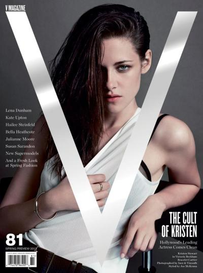 Kristen Stewart for V magazine [Spring Preview 2013]