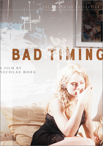 Bad Timing (1980) is an interesting movie. It's a story of sexual obsession and alcohol abuse, twisted with emotional & criminal drama.  The storyline has myriad flashbacks in it, so don't let your attention waver.
