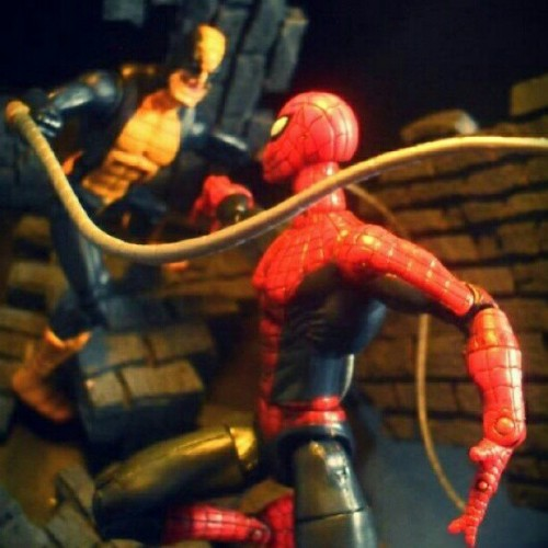 Tentacle action #acba #toyphotography #articulatedcomicbookart