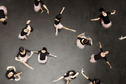 luminence:  ballet from above by laura zalenga on Flickr. Don't remove the credit.
