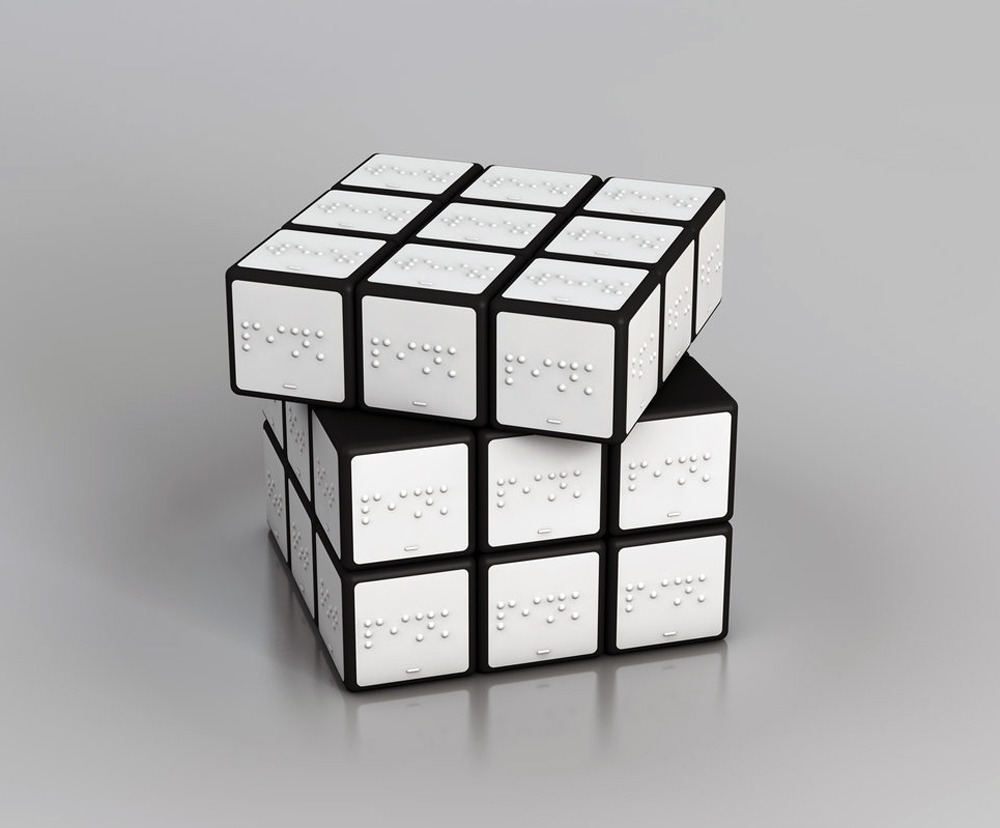 Konstantin Datz - Rubik's Cube for the Blind (2010)