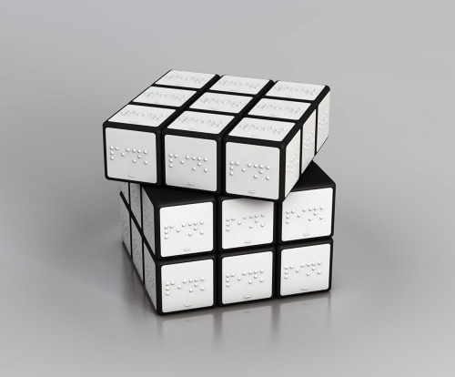 likeafieldmouse:  Konstantin Datz - Rubik's Cube for the Blind (2010)