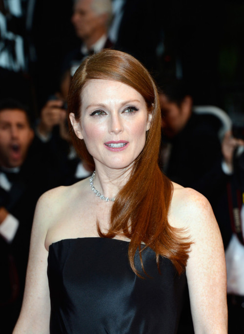 Julianne Moore || Opening Ceremony and 'The Great Gatsby' Premiere during the 66th Annual Cannes Film Festival on May 15th 2013