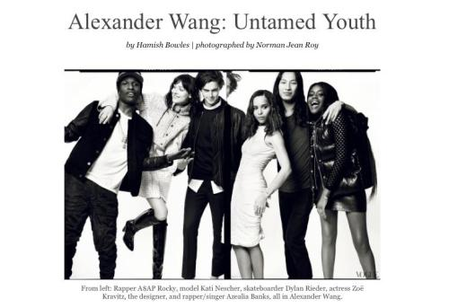 Alexander Wang, fuck yes.