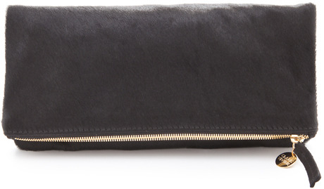 Clare Vivier foldover clutch on sale for $126 (from $180).
