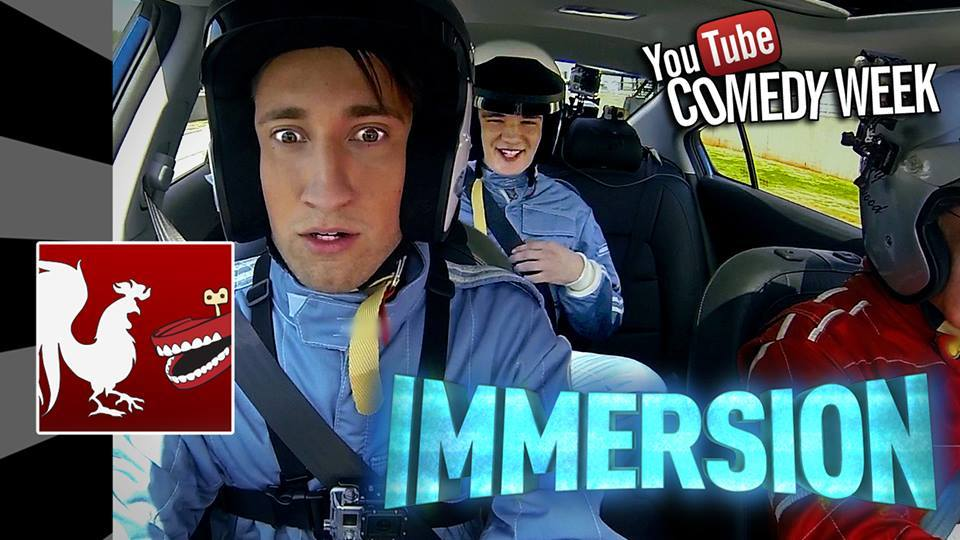 Tomorrow is a huge day! A BRAND NEW Episode of Immersion will premiere at 3 PM Central starring our new lab rats, Michael and Gavin, and the all-new 2014 Kia Forte!