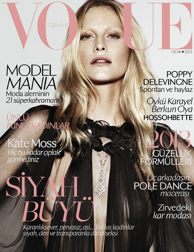 Poppy Delevingne by Alvaro Beamud Cortés for Vogue Turkey January 2013.