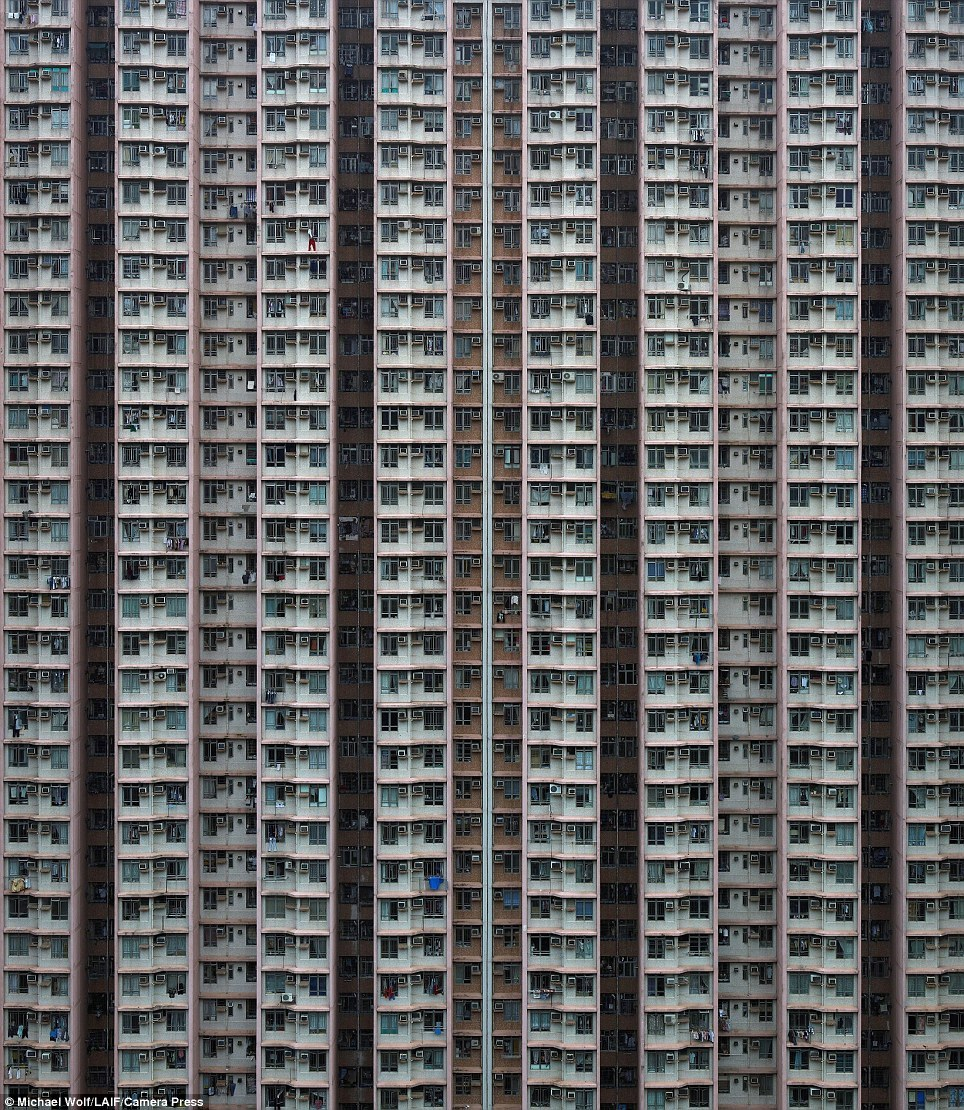 secretcinema1:  Tower Blocks, Hong Kong, 2013, Michael Wolf